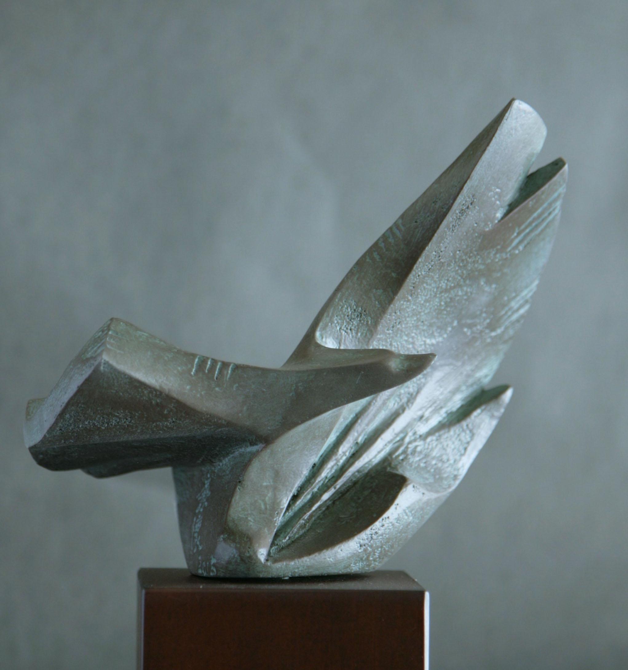 曲线动态景观雕塑小品